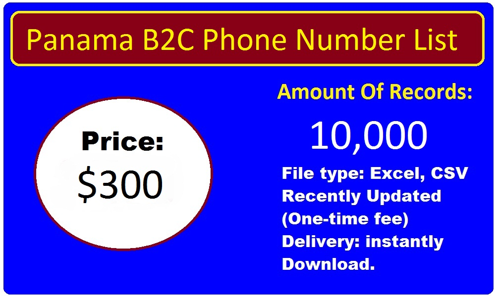 Panama Phone Number List