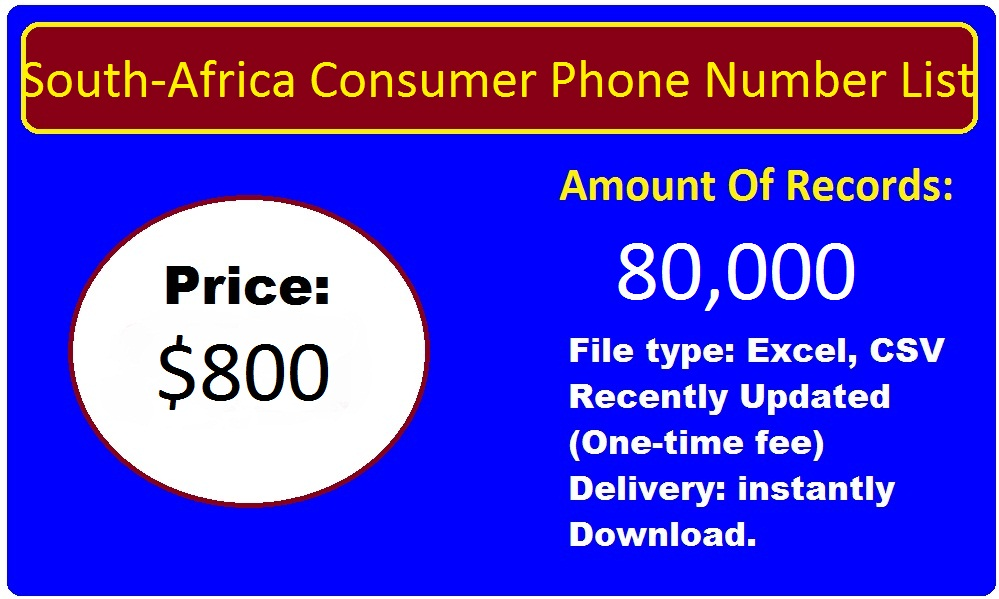 South-Africa Phone Number List
