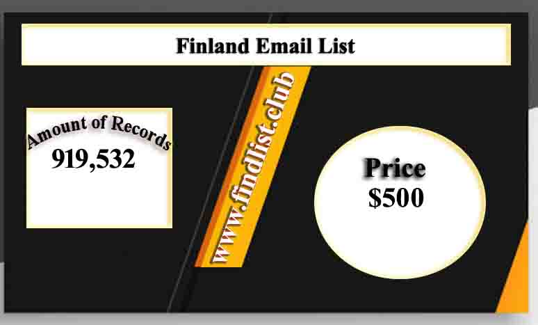 Finland Email List