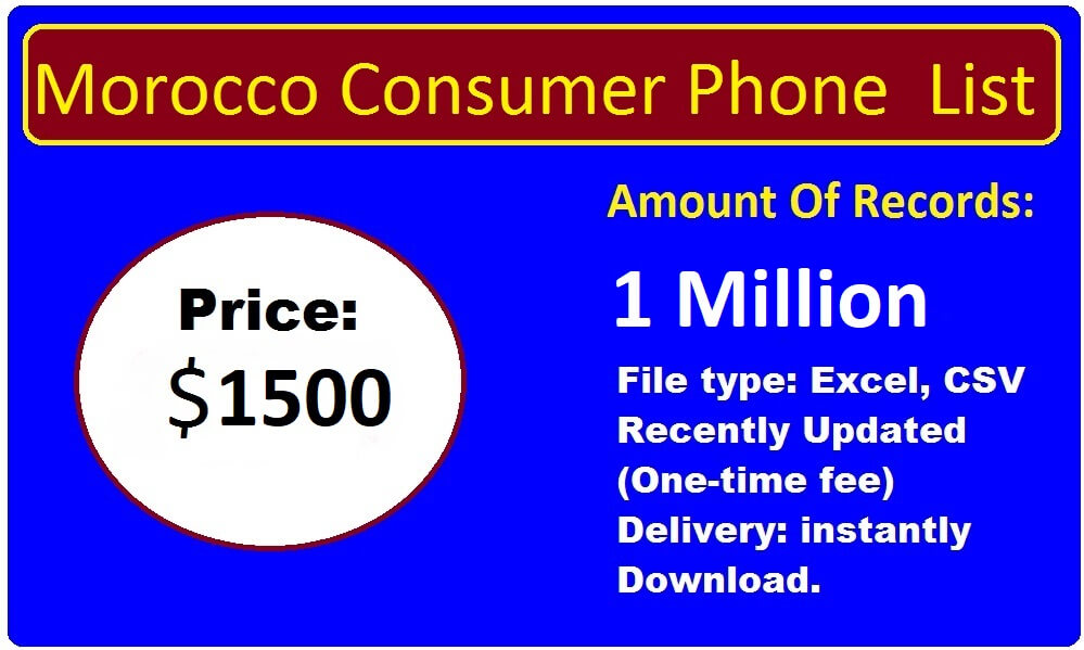 Morocco Phone Number List