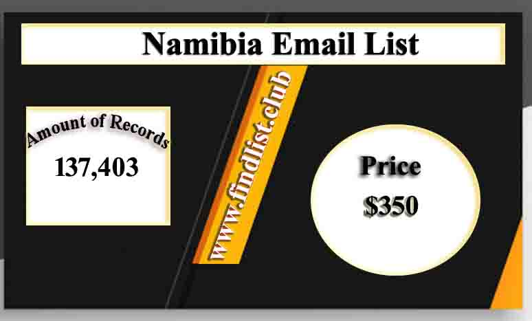 Namibia Email List